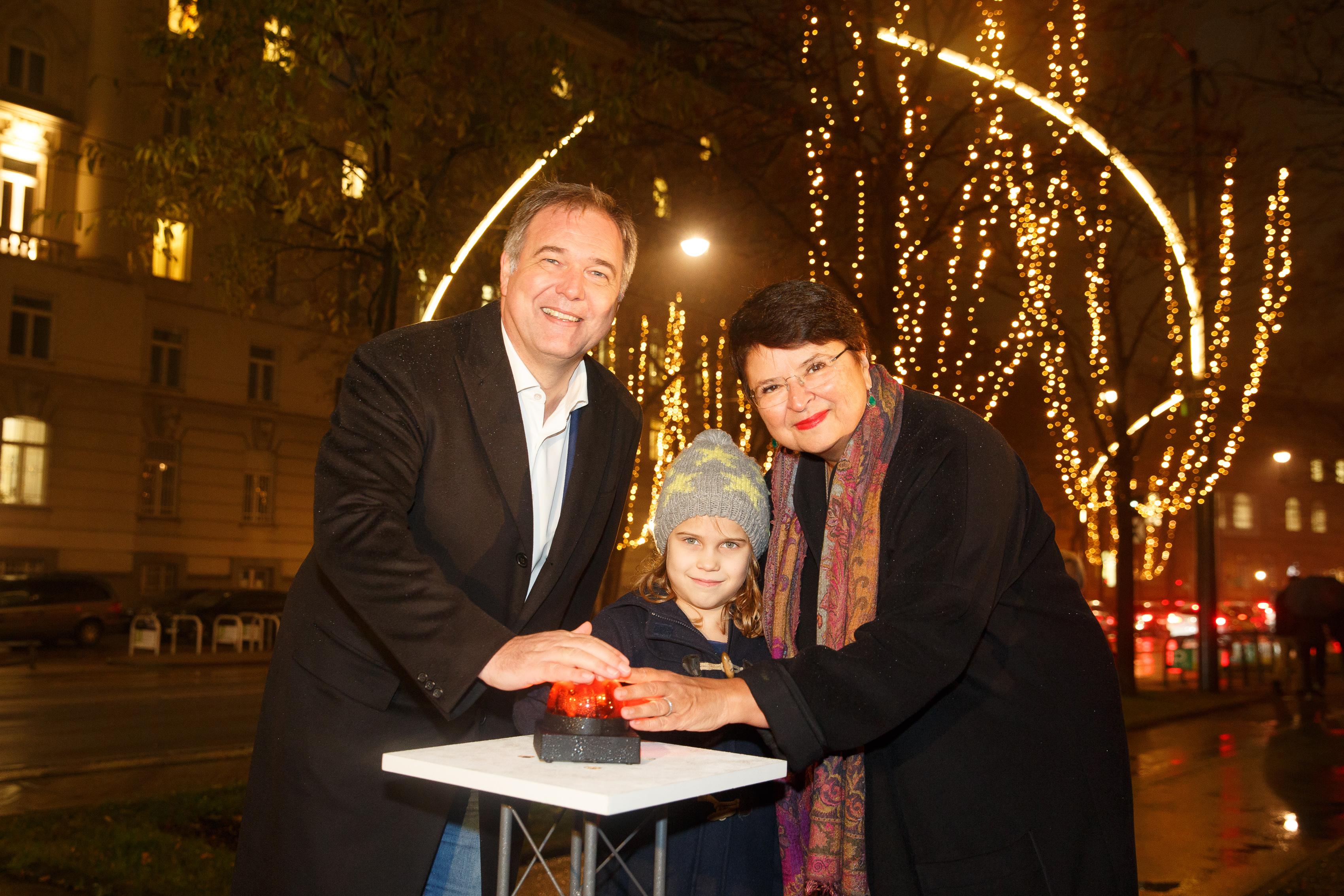 wkw - Eröffnung Weihnachtsfestbeleuchtung 2016 -