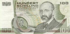 100_Schilling_Eugen_Boehm_von_Bawerk_obverse