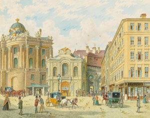 Gerasch_–_Old_Burgtheater_in_Vienna