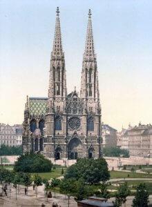 800px-Wien_Votivkirche_um_1900